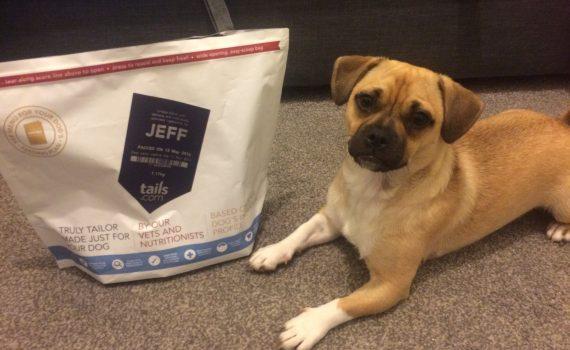 Jeff with Tails.com Bag