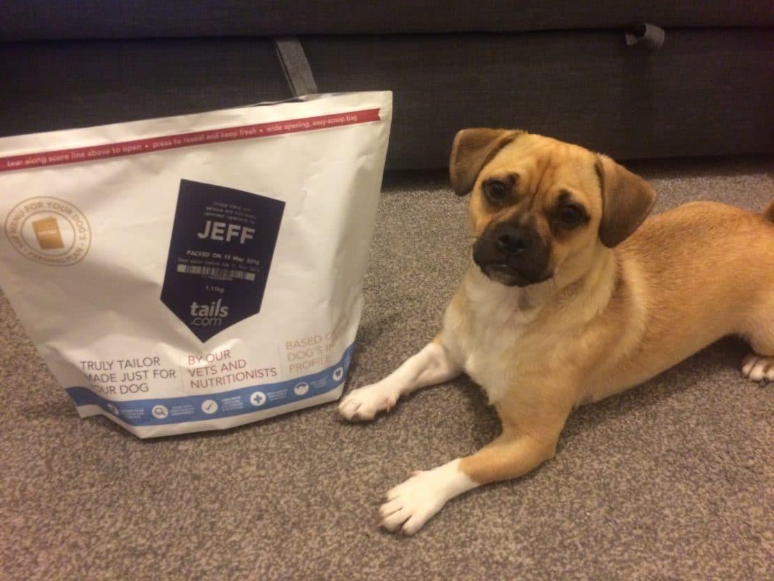 Best Wet Dog Food >> Tails.com Dog Food Review - Jug Dog