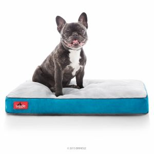 Brindle Memory Foam Dog Bed