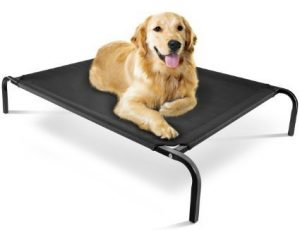 Pet Living Heavy Duty Raised Dog Bed