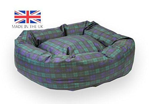 Tartan Indestructible Dog Bed