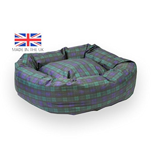 Tartan Indestructible Dog Bed
