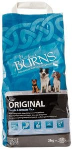 Burns Dog Food Original