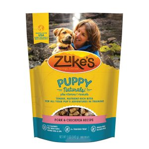 zukes Naturals puppy treats