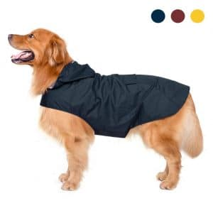 Zellar Dog Raincoat