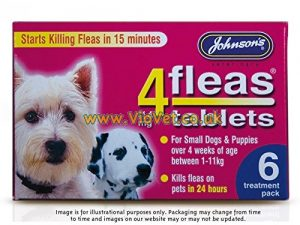 Johnson's 4Fleas Tablets