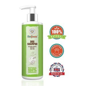 Progroom Oatmeal Dog Flea Shampoo