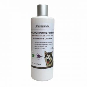 Chambers and Co Natural Shampoo with Essential Oils