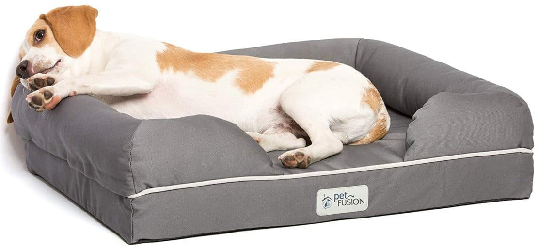 Pet Fusion Memory Foam Dog Bed