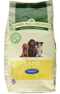 10. James Wellbeloved Lamb And Rice Hypoallergenic Complete