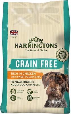 Harringtons Grain Free Hypoallergenic Chicken and Sweet Potato