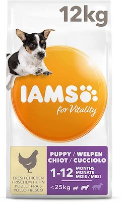 Iams for Vitality Dry Puppy Food Review