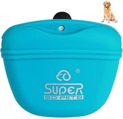 Petacc Silicone Dog Treat Pouch