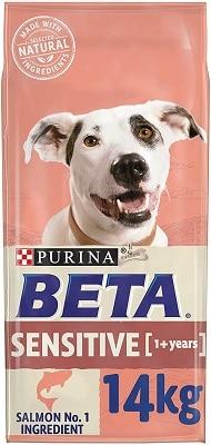 BETA Sensitive Adult Dry Dog Food Salmon