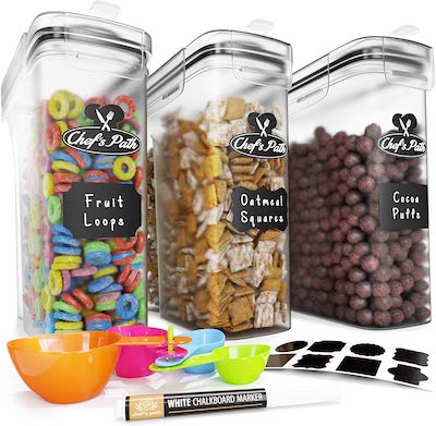 Chef's Path Cereal Storage Container