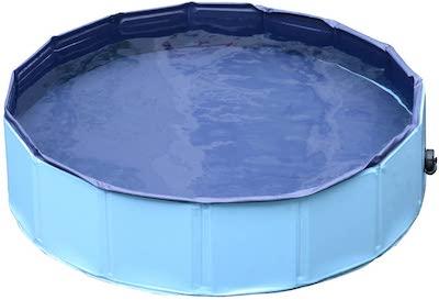 PawHut Pet Swimming Foldable Bathing Tub
