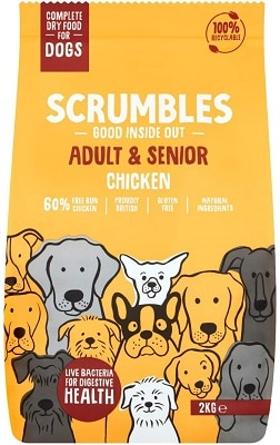 Scrumbles Natural Dry Dog Food