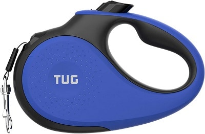 TUG Patented 360° Tangle-Free, Heavy Duty Retractable Dog Lead