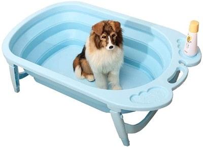 YLLYLL Collapsible Dog Bathtub