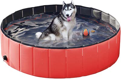 Yaheetech PVC Cat Dog Swimming Pool
