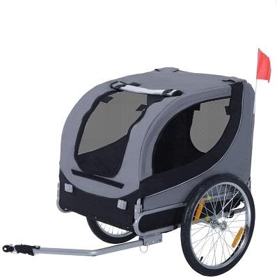 best dog bike trailer uk