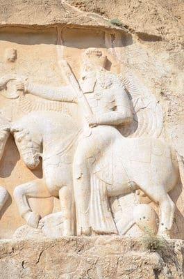 Ahura Mazda Mural