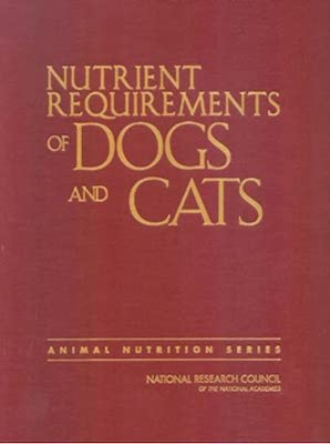 Nutritional Requirement For Dogs and Cats Cover
