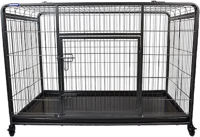 The Pet Store Premium Dog Crate with wheels