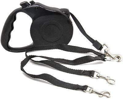 Tinya Mall Retractable Dog Lead With Adjustable Double Dog Leash