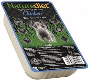 Naturediet Chicken with Vegetables and Rice Dog Food Review