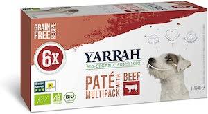 Yarrah Dog Food Alu Cup Organic Vegetarian Chunks