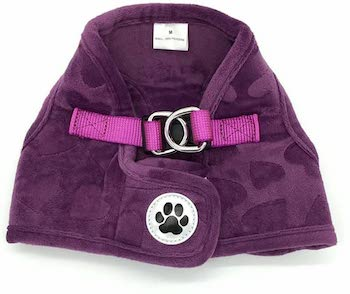 Purple Lovely Heart my Dog Harness