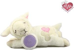Hana Panda Heartbeat Puppy Toy