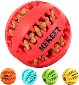 Mekeet Dog Ball Chew Toy