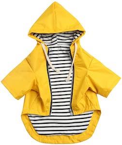 Morezi Zip Up Dog Rain Jacket