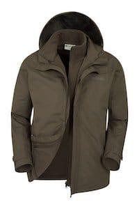 Mountain Warehouse 3 in 1 Water resistant Coat