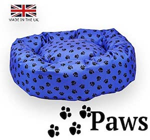 Paws Indestructible Donut Dog Bed