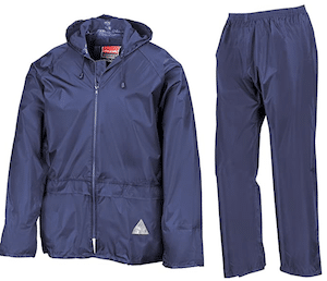 Result Heavyweight Waterproof Jacket and Trouser Suit
