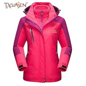TACVASEN Women's Windproof Waterproof jacket lightweight