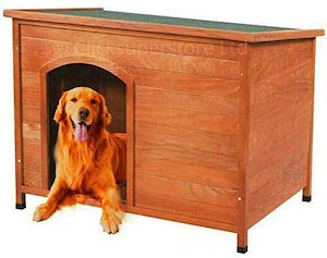 Click Large Outdoor Wooden Dog Kennel  Click Dog House Large
