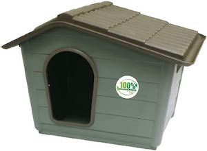 Croci Recycled Kennel Villa Croci Recycled Plastic Dog House